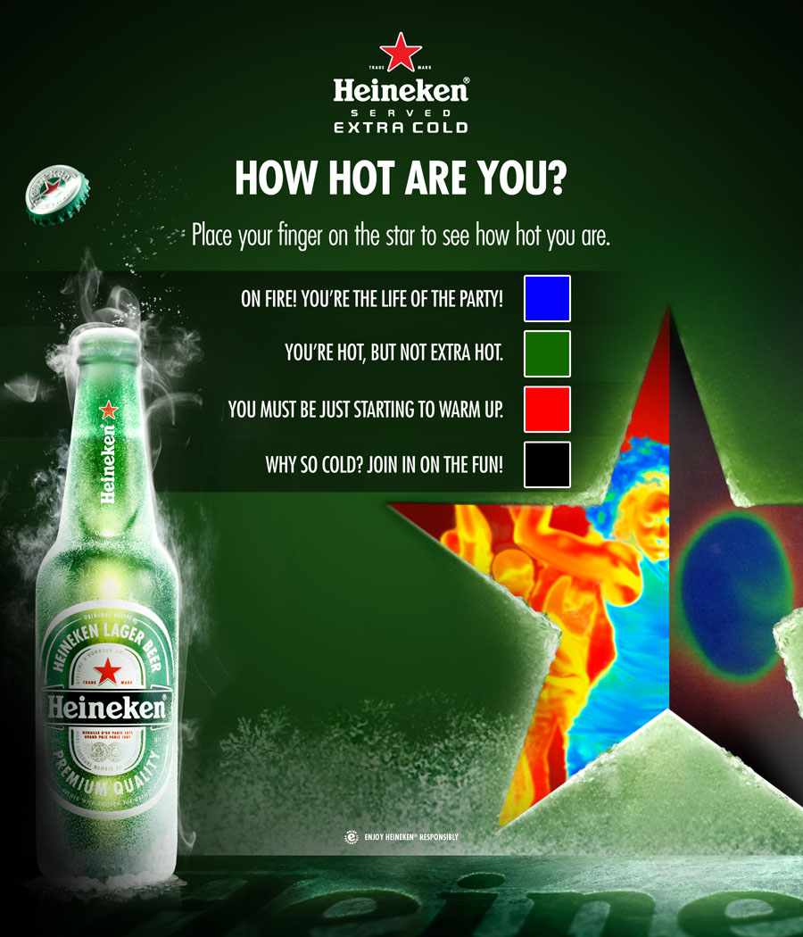 Table Tent ... & Heineken Extra Cold Toolkit u2013 Kim Merritt