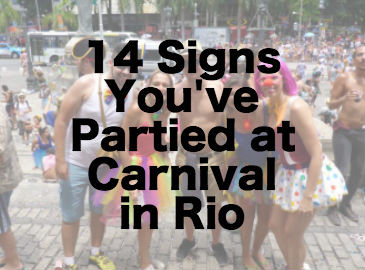 Partied at Rio